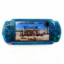 Clear Blue Professionally Refurbished Sony PSP 1000 Handheld System Game Console