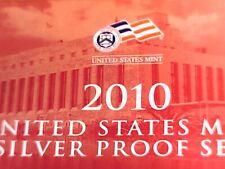 U S 2010 S SILVER PROOF Set