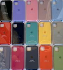 Funda protectora de silicona TPU cover case para Apple iPhone 11 11Pro 11ProMax