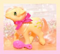 ❤️My Little Pony MLP G1 Vtg 1984 Posey Light Pink Tulips Flowers Earth Pony❤️