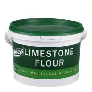 Baileys Limestone Flour Horse Feed Calcium Supplement - 3kg Tub