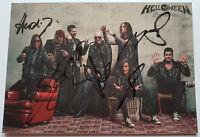 ⭐⭐⭐⭐ Helloween  ⭐⭐⭐⭐  Autogramm   ⭐⭐⭐⭐  Autogrammkarte Pumpkins United  ⭐⭐⭐⭐