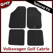 Volkswagen VW Golf Mk1 Cabriolet 1979-1993 Tailored Carpet Car Floor Mats GREY