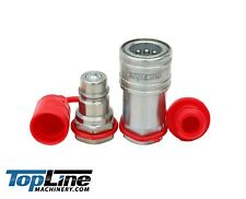 Tl37 12 Npt Thread 12 Ag Hydraulic Quick Connect Coupler Poppet Valve Pioneer