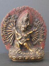 Rare Bronze tantrique du Bhoutan, Yamantaka