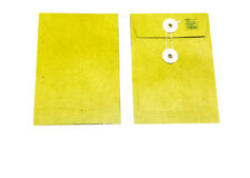 "7 x 10"" Brown Kraft Envelope with string and button Mailing Envelopes Bags x 5"