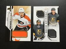 2018-19 Upper Deck Premier Base Rookie Jersey Patch RC SP Numbered You Pick