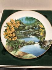 """Wildflowers Of The South """"Wild Honeysuckle"""" Collector'S Plate w/ Coa"""