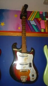 Early Teisco Del Rey ???? super early 60's Stratocaster copy Guitar