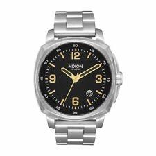 NEW Nixon Herrenuhr A1072-2730 Charger Black Uhr Armbanduhr