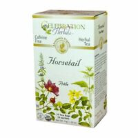 Organic Horsetail Tea 24 Bags by Celebration Herbals