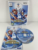 Nintendo Wii Mario & Sonic at the Olympic Winter Games Complete