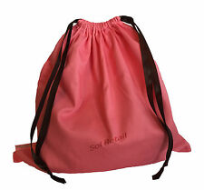Soap And Glory Pink Drawstring Bag