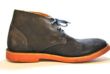 Walk-Over  Ankle Suede Men's Casual Shoes Midnight Blue/Blk,9M,0598