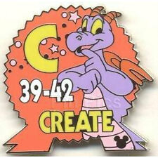Figment EPCOT Parking Sign Pin (Cast Lanyard Series)