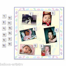 Guess Who Is The Baby Shower Pick The Baby Party Game Set