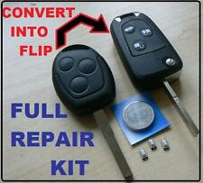 FORD MONDEO FIESTA PUMA FOCUS KA TRANSIT GLAXY REMOTE FLIP KEY FULL REPAIR KIT