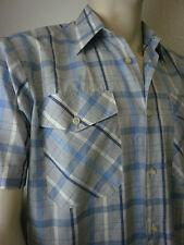 Rockabilly Uomo Camicia True Vintage Uomo Camicia Da superiore 60er tempo libero 60s Short Corto