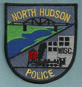 NORTH HUDSON WISCONSIN POLICE PATCH BRIDGE!