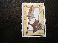 FIDJI - timbre yvert et tellier n° 557 obl (A8) stamp fiji
