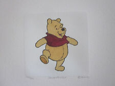 """Disney """"Winnie the Pooh"""" LIMITED EDITION Etching"""