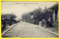cpa 89 - APPOIGNY Le PONT sur l'Yonne Entrée du village Route de CHEMILLY