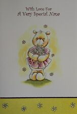 Nana Birthday Card - with Lilac Envelope