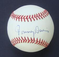 TOMMY DAVIS  Signed Autographed  Baseball JSA F07259