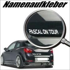Baby on Tour, Namenaufkleber, Domain Aufkleber, Autoaufkleber Wunschtext GRN06