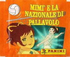 """""""MIMI' E NAZIONALE DI PALLAVOLO"""" BUSTINA NUOVA SIGILLATA FIGURINE (ALBUM PANINI)"""