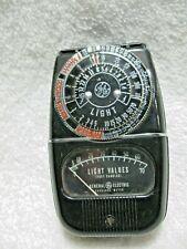 Vintage Collectible Camera  GE Light Exposure Meter Model 8DW58Y4-Photographer!!