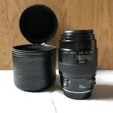 Canon EF100mm Macro f2.8