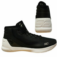 Under Armour UA Curry 3 Mens Black Basketball Shoes Trainers 1269279 006 Y11B