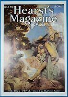 Maxfield Parrish Hearst's Magazine Cover July,1912 Poster 16 X 11 1/4