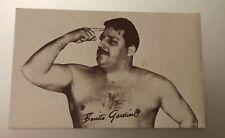 1950's ARCADE / EXHIBIT CARD:  Benito Gardini Professional Wrestler