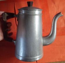 ANCIENNE CAFETIÈRE FER BLANC  TOURNUS 1,5L. 1950  10 tasses