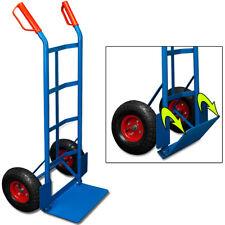 Diable chariot Charge max. 200kg Roues pneumatique Transport godet de chargement