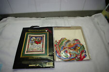 The Gold Collection Angels Bring Joy Cross Stitch Kit 8480 Vintage 1995 OPEN