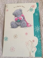 """ SPECIAL MAM"" CHRISTMAS TATTY TEDDY ME TO YOU CARD FROM 99p"