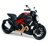 DieCast 1:12 Maisto Motor Bike ASSEMBLY Kit for Diavel carbon Motorcycle Toy