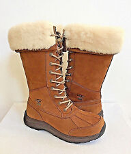UGG ADIRONDACK TALL III CHESTNUT WATERPROOF Boot US 8.5 / EU 39.5 / UK 7 NIB