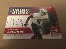 2004 Bowman Certified Signs of the Future Auto Jerricho Cortchery Rookie Card RC