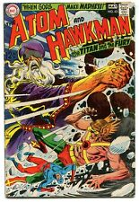 The Atom and Hawkman 42 VG 4.0 DC 1969 Silver Age Hawkgirl