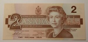 1986 Canada Two Dollar Banknote 3368