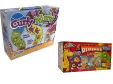 BUMPER PUZZLE SETS FOR  KIDS CURLY WURLY  & ANIMAL COUNTING PUZZLE FOR AGES 3 +