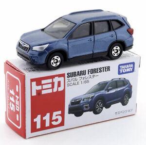 Tomica No.115 Subaru Forester Blue