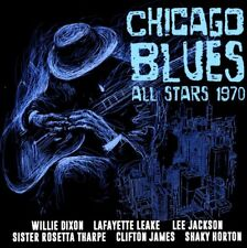 CHICAGO BLUES ALL STARS 1970  2 CD NEUF