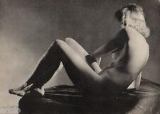 Nu - 1948 - Etude de nu  - Héliogravure - par Jeanne Robert