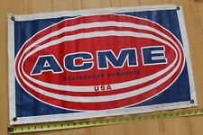 Acme Skateboard Products Usa Skateboarding Vintage Rare Vinyl 18x29in. Banner