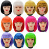 AU_ Women's Bangs Short Bobo Style Cosplay Party Wig Hairpiece Periwig Fashion
